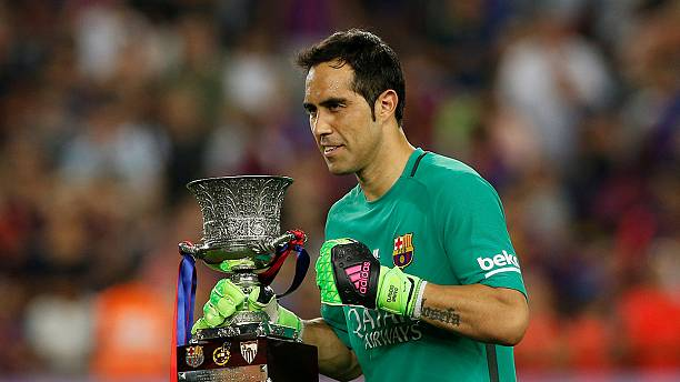 Claudio Bravo joins Manchester City