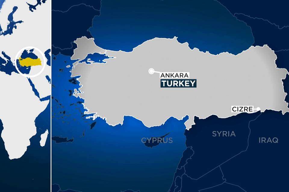 Turquia: Carro armadilhado junto a esquadra de Cizre mata 8 polícias