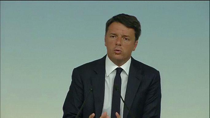 İtalya Başbakanı Matteo Renzi'den yeni bir imar projesi vaadi