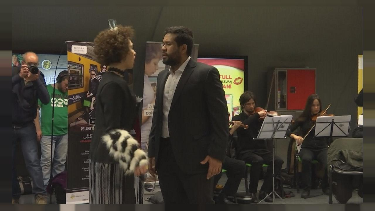 Μπουένος Άιρες: Παράσταση όπερας σε σταθμό του μετρό