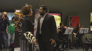 Metroda sahnelenen opera Buenos Aireslilerin ilgisini çekti