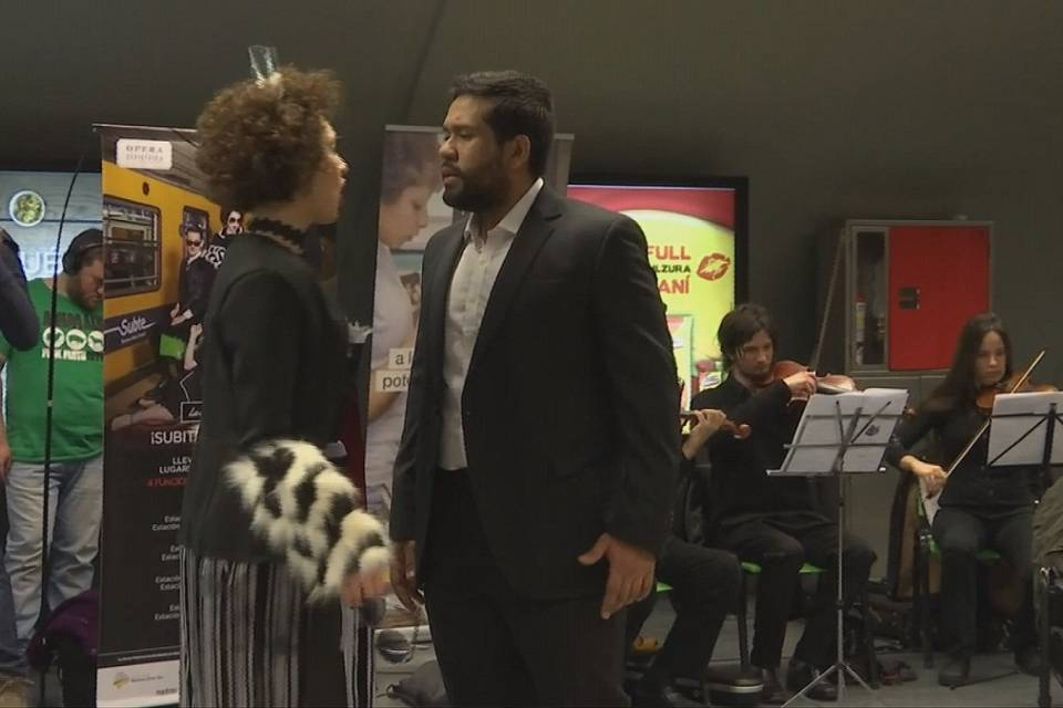 Opera goes underground in Buenos Aires