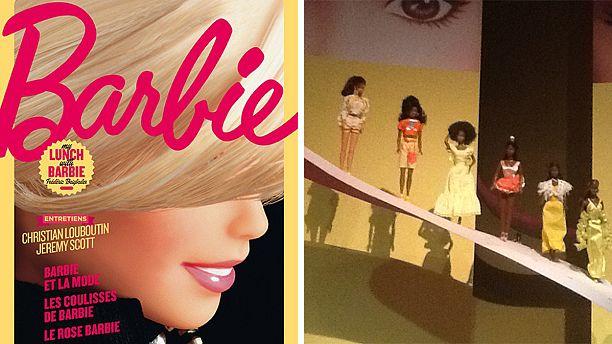 A quelques mètres de La Joconde, Barbie s'expose