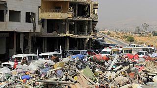 Suriye'de abluka altındaki Deraya'da tahliye anlaşması