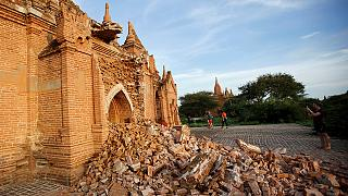 Terremoto in Myanmar, gravemente danneggiata la valle dei templi