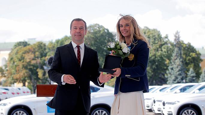 Russian Olympic medallists awarded free BMWs