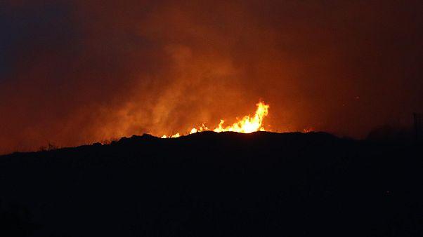 Harminc éve nem pusztított ilyen erős tűz Navarrában