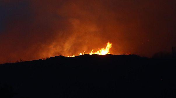 İspanya'daki orman yangını kontrol altında