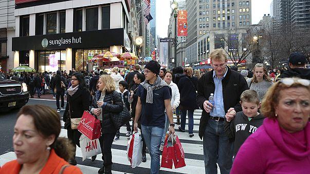 تراجع النمو الأميركي إلى واحد فاصل واحد في المائة مع إرتفاع إنفاق المستهلكين