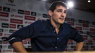Iker Casillas no entra en los planes de Julen Lopetegui