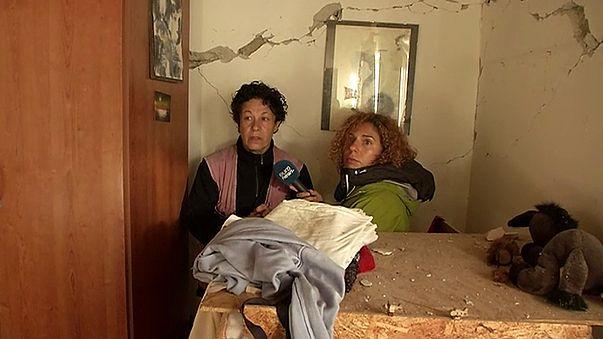 Sisma in Centro Italia: le telecamere di euronews tra le macerie di Illica