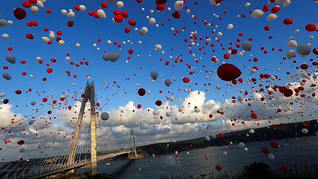 В Турции открыт третий мост через Босфор