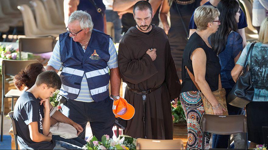 Staatsakt für die Toten in Italien