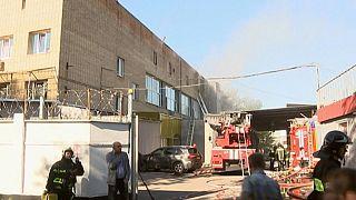 17 personnes décédées dans incendie à Moscou