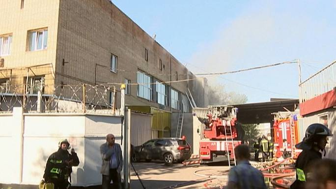 At least 17 dead in Moscow warehouse fire: Russian ministry