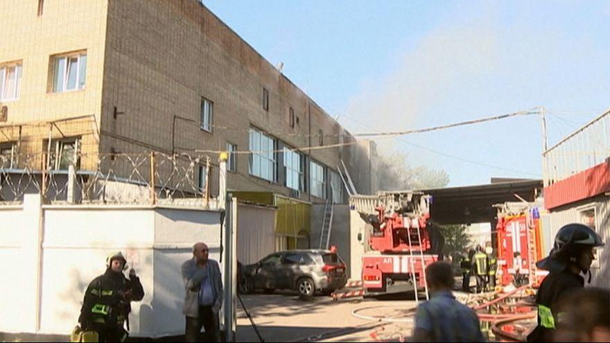 Feuer in Moskau: Behörden bestätigen mehrere Tote