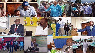 Gabon : profil des 11 candidats