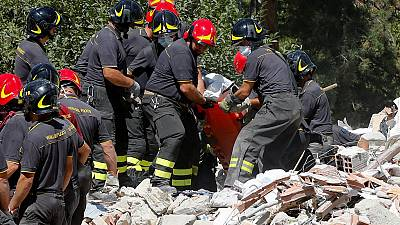 Aftershocks hampering rescue efforts in Italy's hilltop town of Amatrice
