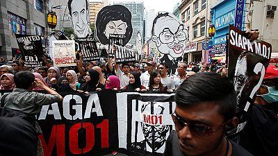 Малайзия: демонстранты обвиняют премьер-министра в коррупции