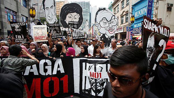 احتجاجات في ماليزيا للمطالبة برحيل وسِجن رئيس الوزراء نجيب رزَّاق