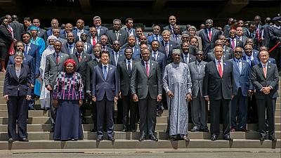 Over 30 African leaders attend the first TICAD Summit held in Africa [Photos]