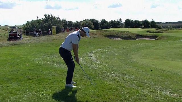 Golf: Made in Danemark'ta Dredge şampiyonluğa çok yakın
