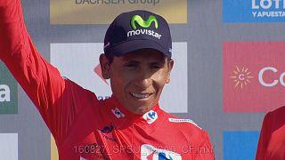 Vuelta, 8a tappa: Quintana si prende la maglia rossa, Froome in difficoltà
