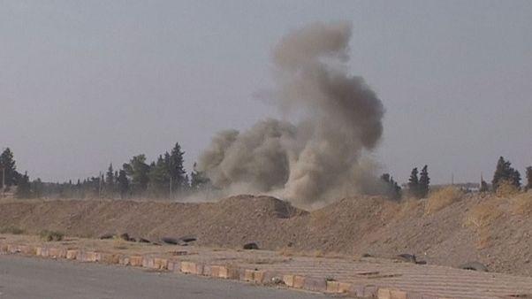 ادامه حملات ارتش ترکیه به شهر مرزی سوریه