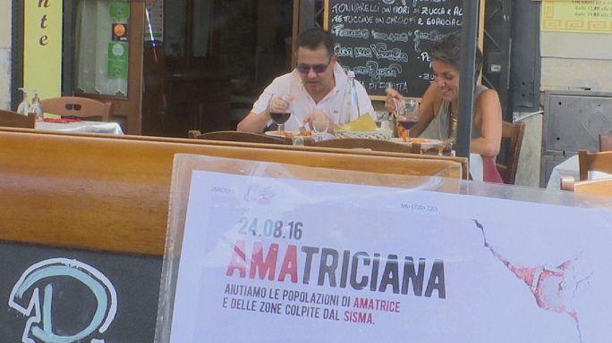 Italy quake: restaurants launch pasta campaign for devastated areas