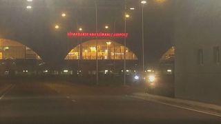 Flughafen von Diyarbakir unter Raketenbeschuss