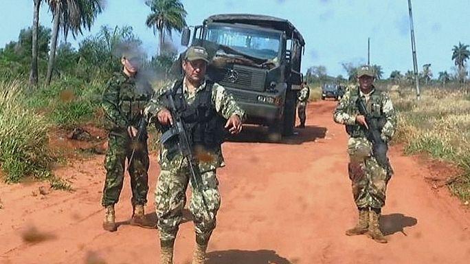 Paraguay'da askere pusu: 8 ölü