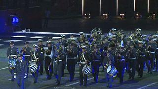 La musique militaire à l'honneur sur la place Rouge de Moscou