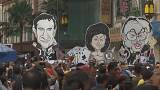 Malezya'da protesto gösterisi