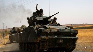 """أنقرة تعلن قتل 25 """"إرهابيا"""" من الأكراد في منطقة جرابلس السورية"""