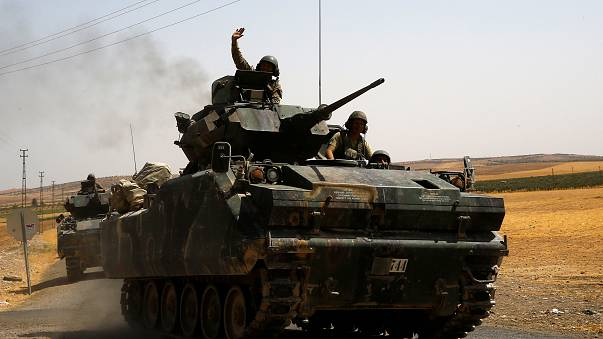 Dozens dead as Turkey targets Kurdish militias in Syria