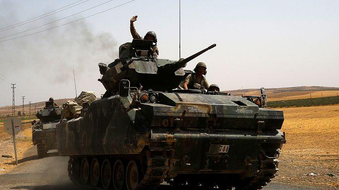 Több tucatnyi kurd civil életét oltotta ki a török hadsereg szíriai bombázása