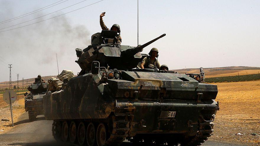 Fırat Kalkanı Operasyonu'nda 25 YPG'li öldürüldü