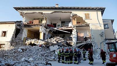 Italy appeals for funds to rebuild quake-affected regions