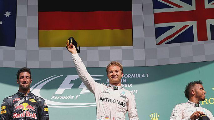نيكو روزبورغ يتوج بلقب جائزة بلجيكا الكبرى للفورمولا واحد