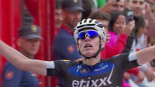 Vuelta a Espana: De la Cruz wins stage nine as Froome drops to fourth overall