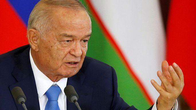 Özbek lider Kerimov hastaneye kaldırıldı