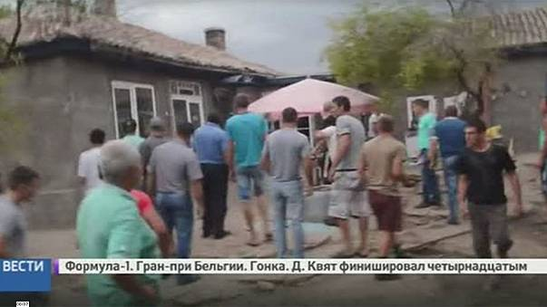 Roma forced to flee violent mob in Ukraine village