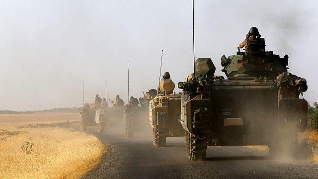 القوات التركية وحلفاؤها من المعارضة ينتزعون قريتين من قوات متحالفة مع الاكراد شمال سوريا