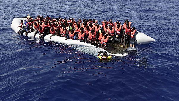 У берегов Ливии спасли 10-дневного младенца