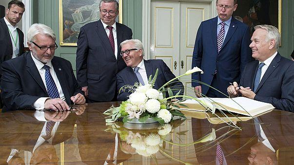 Berlino-Parigi-Varsavia, nuovo Triangolo di Weimar per rilanciare l'Ue
