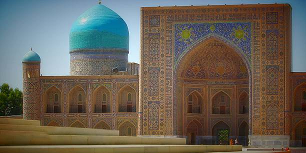 Postcards from Uzbekistan: the Tilla-Kori Madrassah