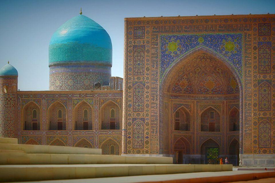Postcards from Uzbekistan: the Tilla-Kori Madrassah