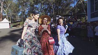 Настроение 50-х: Сиднейская ярмарка и путешествие во времени