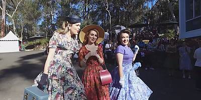 The Sydney 'Fifties Fair' a look back at a time of unique design