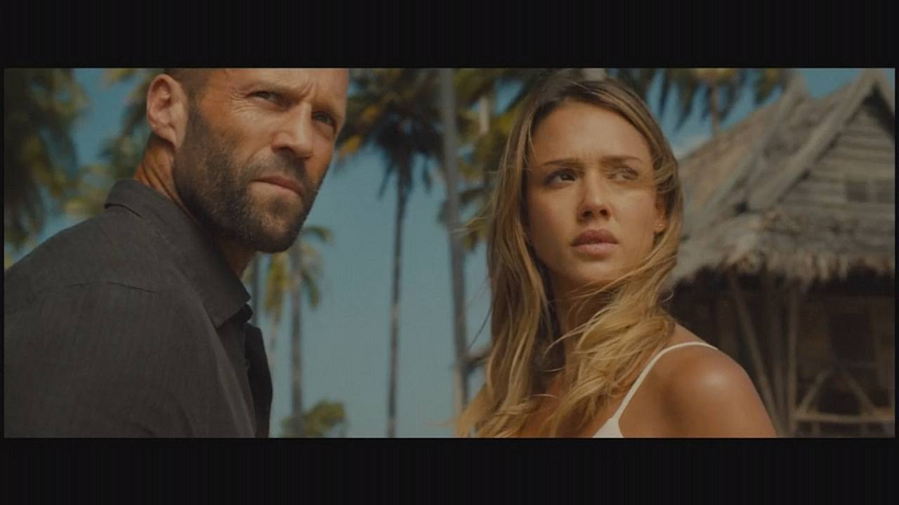 Statham and Alba make a splash in 'Mechanic Resurrection'